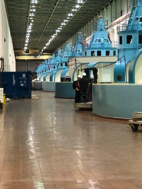 Specialty Sealing Turbine Hall US Army Corps facility