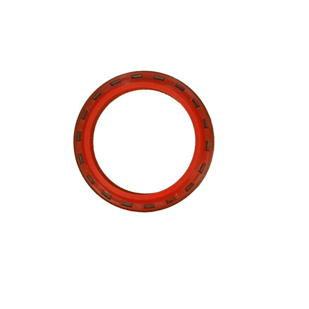 Oil sealbearing seal wrubber coated band ring & garter spring